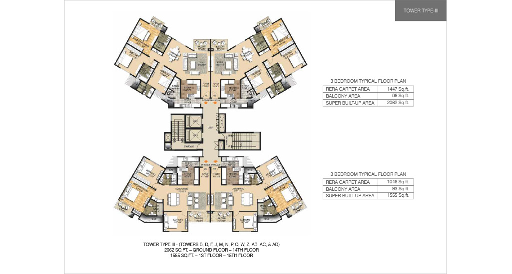 2/3/4 BHK Flats for Sale in Anna Nagar Chennai - Ozone Metrozone