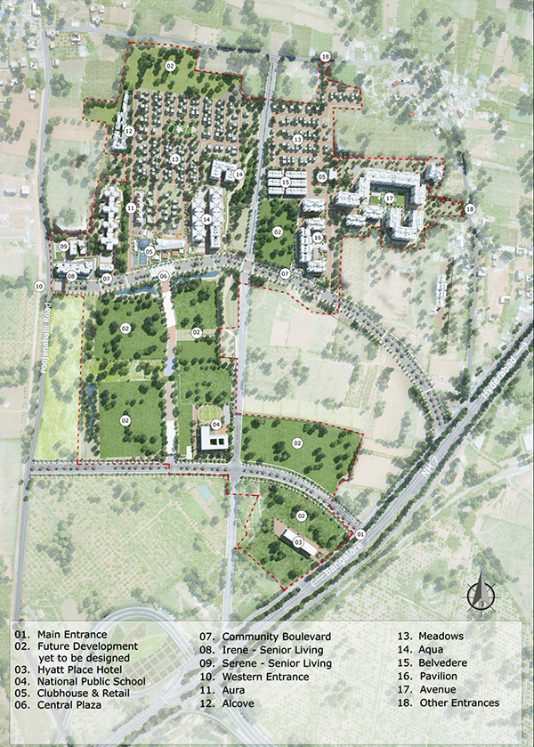 Master Plan Of Integrated Townships In Bangalore Ozone